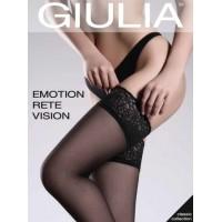 "ЧУЛКИ ""GIULIA"" EMOTION RETE VISION, БЕЛЫЙ ЦВЕТ, РАЗМЕР 44/46"