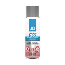 """ВОЗБУЖДАЮЩАЯ СМАЗКА НА ВОДНОЙ ОСНОВЕ """"JO H2O"""" WARMING, 60 МЛ"""